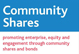 Visit Community Shares website - opens in a new window
