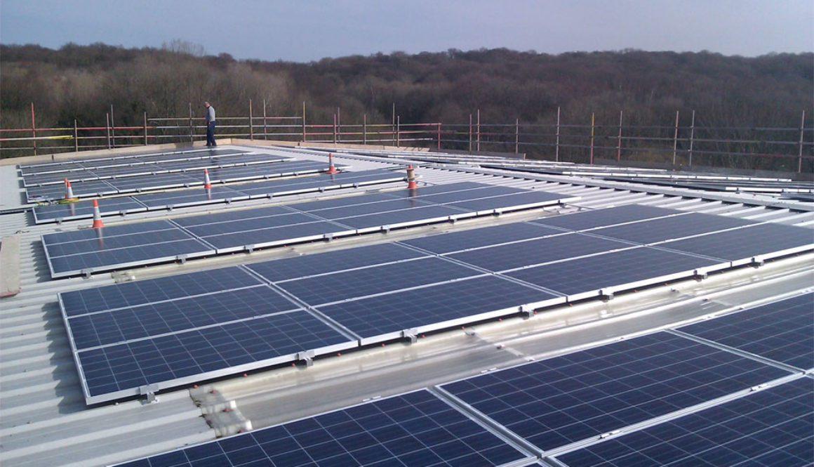 Paces Campus 50kW Solar PV Scheme