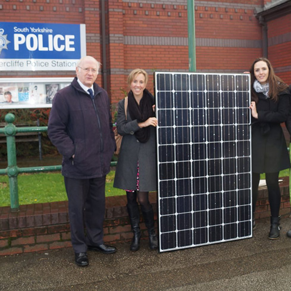 Atterclife Police station solar