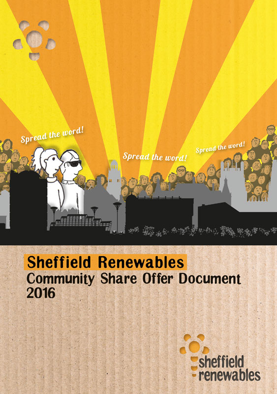 Sheffield Renewables Share Offer front cover